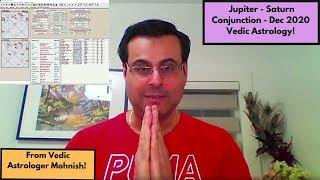 Jupiter Saturn Conjunction in Vedic Astrology