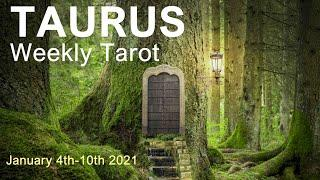 "TAURUS WEEKLY TAROT READING ""AN UNEXPECTED CHANGE OF FORTUNE TAURUS!"" January 4th-10th 2021 #Youtube"
